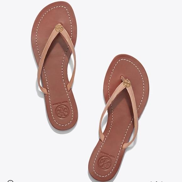 4d7a85e258602a Tory Burch Terra Thong sandal in patent calf. M 5ab674e6b7f72bd91f38f8f9